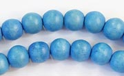 Round, 8mm, Wood, R16 beads, DYED WOODEN BEADS
