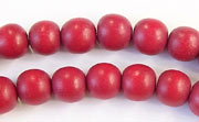 Round, 8mm, Wood, R32 beads, DYED WOODEN BEADS