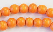Round, 8mm, Wood, R29 beads, DYED WOODEN BEADS