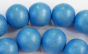 Round, 12mm, Wood, R16 beads, DYED WOODEN BEADS