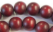 Round, 12mm, Wood, E7 beads, DYED WOODEN BEADS