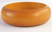 Bangle, Rounded, 25x10mm, Wood, E3 beads, WOODEN BANGLES