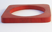 Bangle, Square, 8x(8 to 22)mm, Wood, E6 beads, WOODEN BANGLES