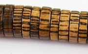 Pucalet, 15x4mm, Patikan beads, EXOTIC WOODEN BEADS