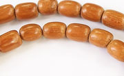 Rice, 6x8mm, Bayong beads, EXOTIC WOODEN BEADS