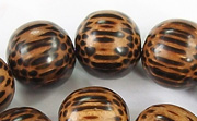 Round, 15mm, Patikan beads, EXOTIC WOODEN BEADS