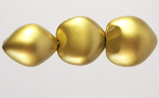 Kukui Nut, 25mm, Gold Metallic beads, KUKUI NUTS