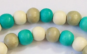 Round, 8mm, Wood, M45 beads, DYED WOODEN BEADS