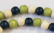 Round, 8mm, Wood, M47 beads, DYED WOODEN BEADS