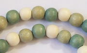 Round, 8mm, Wood, M48 beads, DYED WOODEN BEADS