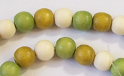 Round, 8mm, Wood, M49 beads, DYED WOODEN BEADS