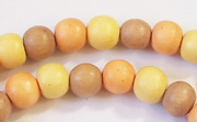 Round, 8mm, Wood, M9 beads, DYED WOODEN BEADS