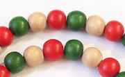 Round, 8mm, Wood, M41 beads, DYED WOODEN BEADS