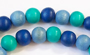 Round, 8mm, Wood, M13 beads, DYED WOODEN BEADS