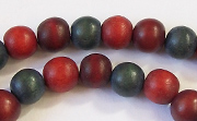 Round, 8mm, Wood, M8 beads, DYED WOODEN BEADS