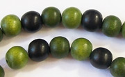 Round, 8mm, Wood, M21 beads, DYED WOODEN BEADS