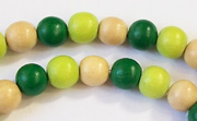 Round, 8mm, Wood, M34 beads, DYED WOODEN BEADS
