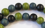 Round, 8mm, Wood, M24 beads, DYED WOODEN BEADS