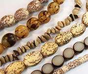 NATURAL SEED & NUT BEADS