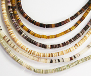 HEISHI 2/3mm beads, TROPICAL SHELL BEADS